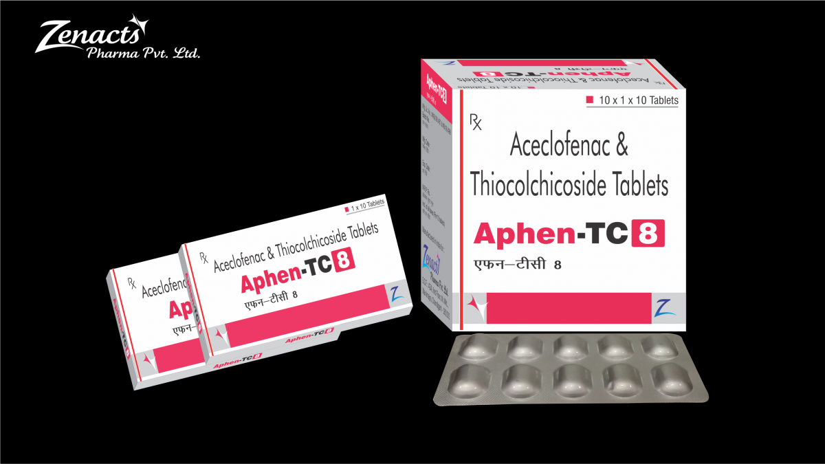 Aphen-TC-8-2 Top PCD Franchise Pharma Company in Chandigarh - Zenacts Pharma