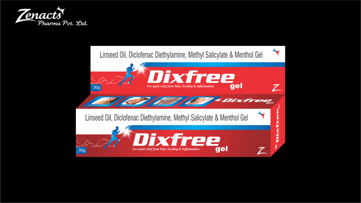 Dixfree-gel-1 Top PCD Franchise Pharma Company in Chandigarh - Zenacts Pharma