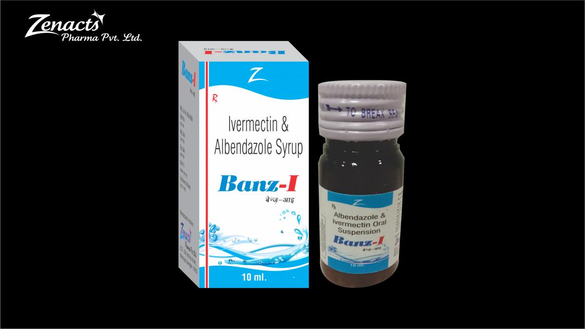 Banz-I-SUS-1 Paediatric Syrups & Drops